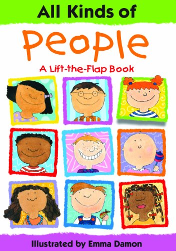 All Kinds of People: a Lift-the-Flap Book von Tango Books
