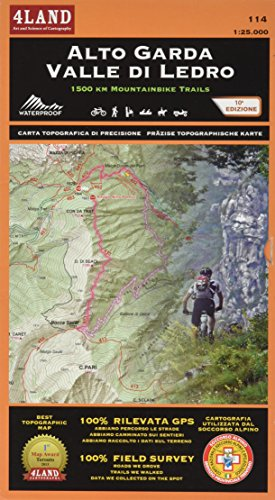 Alto Garda - Valle di Ledro: 1500 KM MOUNTAINBIKE TRAILS von 4LAND