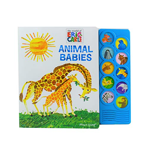 World of Eric Carle - Animal Babies 10-Button Sound Book (The World of Eric Carle: Play-a-Sound) von PHOENIX INTL PUBN INC
