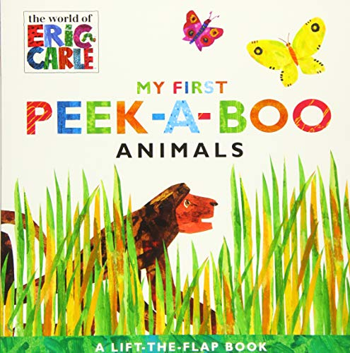 My First Peek-a-Boo Animals (The World of Eric Carle) von Little Simon