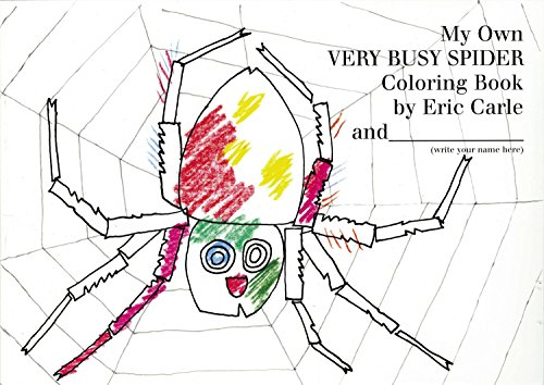 My Own Very Busy Spider Coloring Book von Philomel Books
