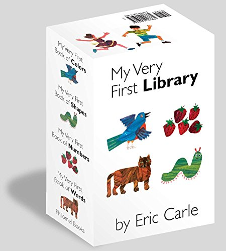 My Very First Library: My Very First Book of Colors, My Very First Book of Shapes, My Very First Book of Numbers, My Very First Books of Words von Philomel Books