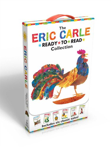 The Eric Carle Ready-to-Read Collection: Have You Seen My Cat?; The Greedy Python; Pancakes, Pancakes!; Rooster Is Off to See the World; A House for Walter the Baker (The World of Eric Carle) von Simon Spotlight