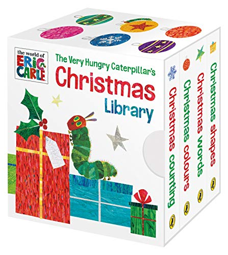 The Very Hungry Caterpillar's Christmas Library von Puffin