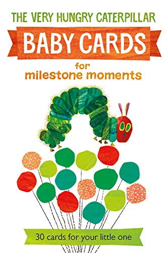 Very Hungry Caterpillar Baby Cards for Milestone Moments von Puffin