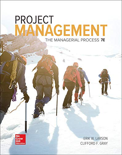 Project Management: The Managerial Process (Mcgraw-hill Series Operations and Decision Sciences) von McGraw-Hill Education