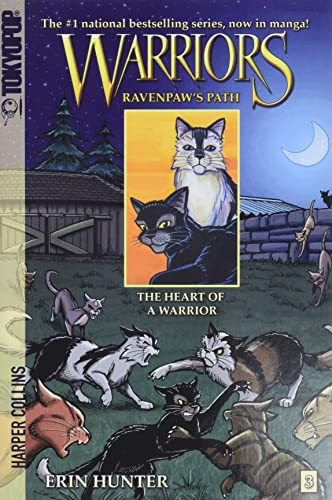 Warriors: Ravenpaw's Path #3: The Heart of a Warrior (Warriors Manga, Band 3) von HarperCollins Publishers Inc