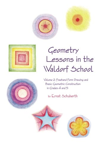 Geometry Lessons in the Waldorf School Grades 4 & 5: Freehand Form Drawing and Basic Geometric Construction in Grades 4 and 5 (Math in the Waldorf Elementary School Curriculum) von Waldorf Publications