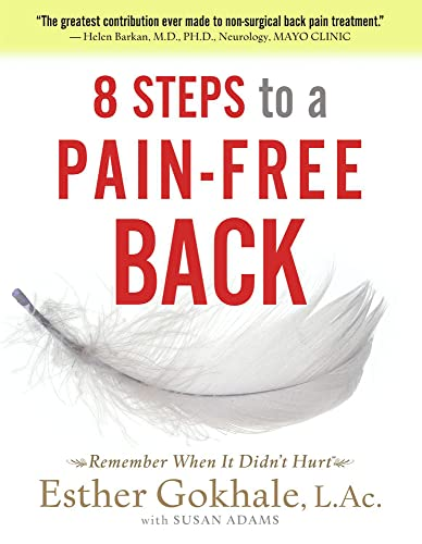 Gokhale, E: 8 Steps to a Pain-free Back: Natural Posture Solutions for Pain in the Back, Neck, Shoulder, Hip, Knee, and Foot (Remember When It Didn't Hurt) von Pendo Press