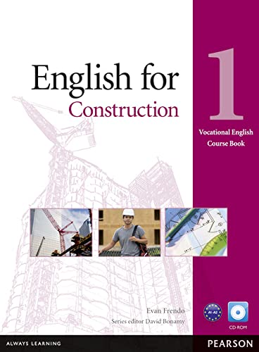 English for Construction Level 1 Coursebook and CD-ROM Pack (Vocational English Course Book) von Pearson