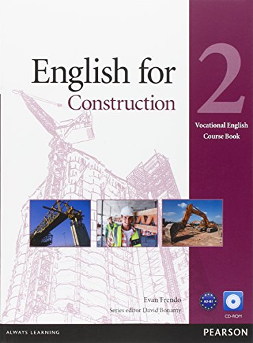 English for Construction Level 2 Coursebook and CD-ROM Pack (Vocational English) von Pearson