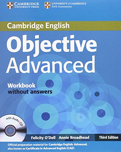 Objective Advanced Workbook without Answers with Audio CD 3rd Edition von Cambridge University Press