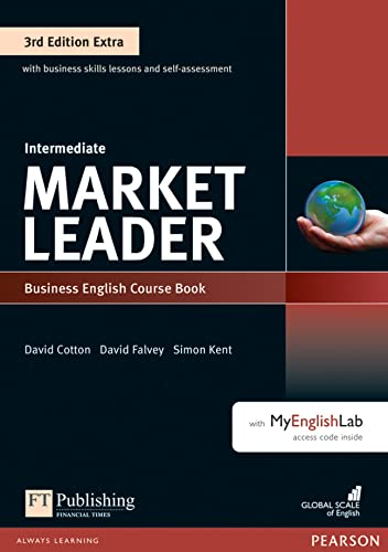 Market Leader Extra Intermediate Coursebook with DVD-ROM and MyEnglishLab Pack von Pearson Education