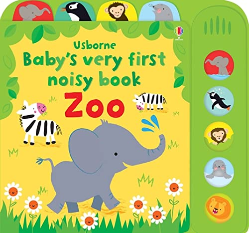 Baby's Very First Noisy Book Zoo (Baby's Very First Books) von Usborne Publishing Ltd