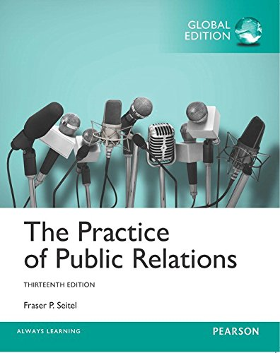 The Practice of Public Relations, Global Edition von Pearson