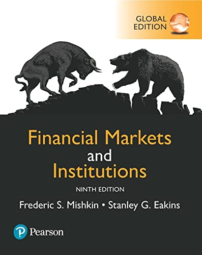 Financial Markets and Institutions, Global Edition von Pearson