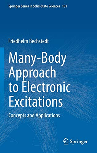 Many-Body Approach to Electronic Excitations: Concepts and Applications (Springer Series in Solid-State Sciences (181), Band 181)