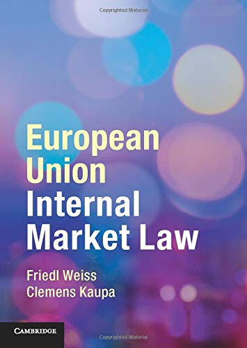 European Union Internal Market Law von Cambridge University Pr.