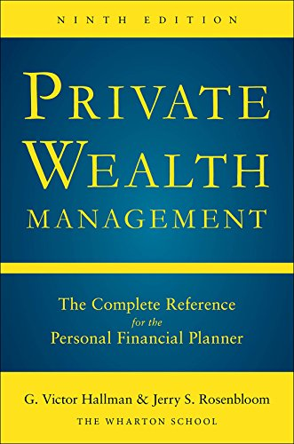PRIVATE WEALTH MGMT THE COMP R (Private Wealth Management) von McGraw-Hill Education