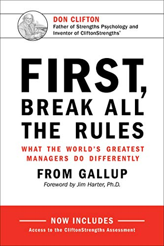 First, Break All The Rules: What the World's Greatest Managers Do Differently von Perseus-Gallup Press