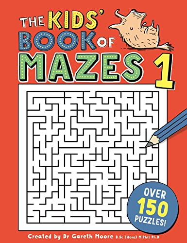 The Kids' Book of Mazes 1 (Buster Puzzle Books) von Michael O'Mara Books Ltd