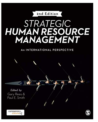 Strategic Human Resource Management: An International Perspective von Sage Publications Ltd