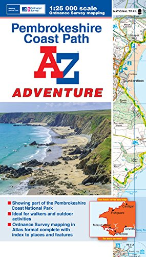 Pembrokeshire Coast Adventure Atlas (A-Z Adventure Atlas) von Geographers' A-Z Map Co Ltd