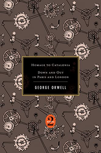 Homage to Catalonia / Down and Out in Paris and London (2 Works) von Houghton Mifflin Harcourt
