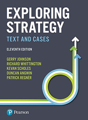 Exploring Strategy: Text and Cases von Pearson