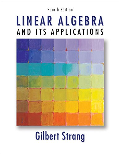 Strang, S:  Linear Algebra and Its Applications von Brooks Cole Pub Co