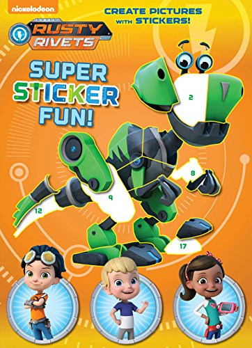 Rusty Rivets Super Sticker Fun! (Rusty Rivets) von Golden Books