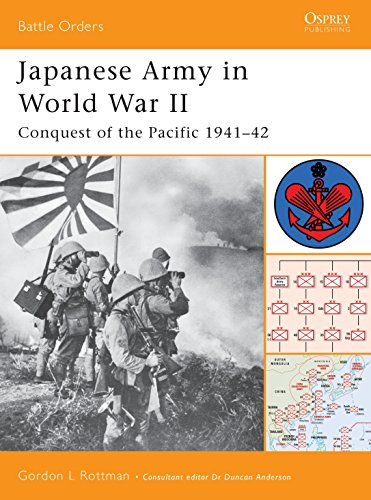 Japanese Army in World War II: Conquest of the Pacific 1941-42 (Battle Orders, Band 9)