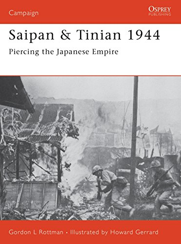 Saipan & Tinian 1944: Piercing the Japanese Empire (Campaign, Band 137) von Osprey Publishing