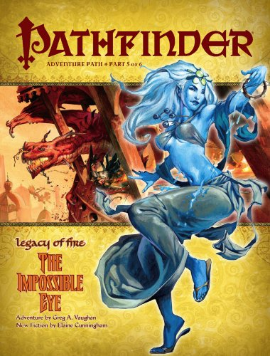 Pathfinder Adventure Path: Legacy of Fire #5 - The Impossible Eye von Paizo Inc.