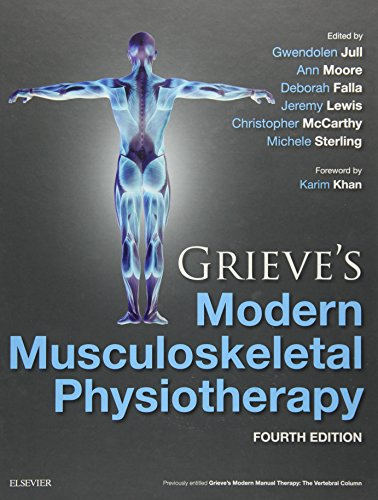 Grieve's Modern Musculoskeletal Physiotherapy von Elsevier LTD, Oxford