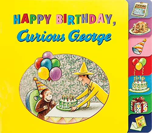 Happy Birthday, Curious George von HMH Books for Young Readers