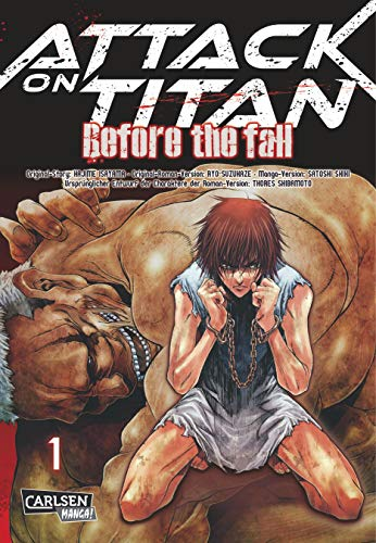 Attack on Titan - Before the Fall 1 von Carlsen