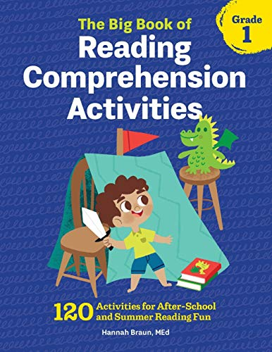 The Big Book of Reading Comprehension Activities, Grade 1: 120 Activities for After-School and Summer Reading Fun von ZEPHYROS PR