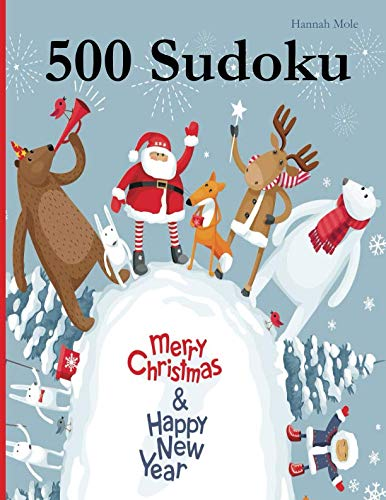 500 Sudoku: Merry Christmas & Happy New Year von udv