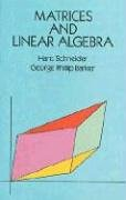 Matrices and Linear Algebra (Dover Books on Advanced Mathematics)