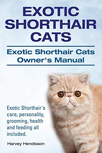 Exotic Shorthair Cats. Exotic Shorthair Cats Owner's Manual. Exotic Shorthair's care, personality, grooming, health and feeding all included. von IMB Publishing