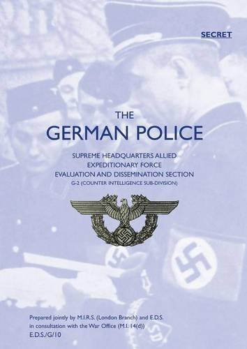 German Police von NAVAL & MILITARY PR