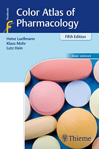 Color Atlas of Pharmacology von Thieme Georg Verlag