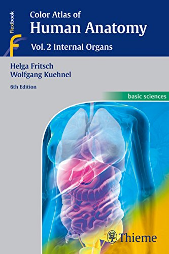 Color Atlas of Human Anatomy: Vol. 2: Internal Organs von Thieme, Stuttgart
