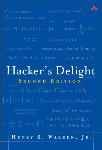 Hacker's Delight von Pearson Education