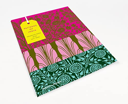 Patterns of India: 10 Sheets of Wrapping Paper with 12 Gift Tags (Thames & Hudson Gift) von Thames & Hudson