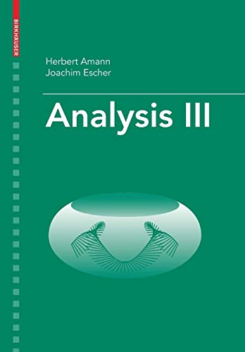 Analysis III von Springer Basel AG