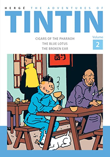 The Adventures of TinTin Vol 2 Compact Edition: Cigars of the Pharaoh, The Blue Lotus, The Broken Ear von Egmont UK Ltd