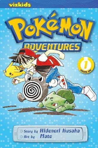 POKEMON ADV GN VOL 01 RED BLUE (CURR PTG) (C: 1-0-0) (Pokemon Adventures, Band 1)
