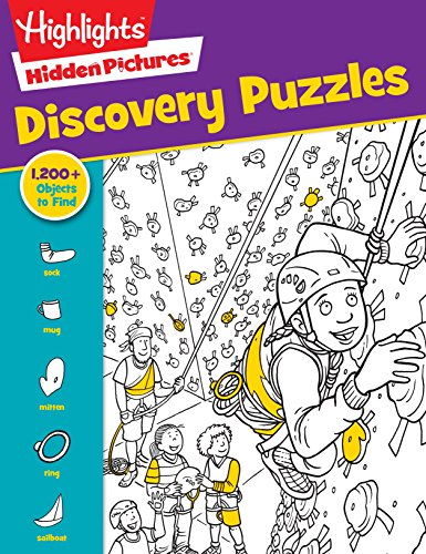 Highlights Hidden Pictures® Favorite Discovery Puzzles (Favorite Hidden Pictures®)